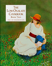 The Low Oxalate Cookbook - Book Two Cover